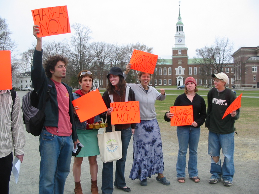 Dartmouth protest 2