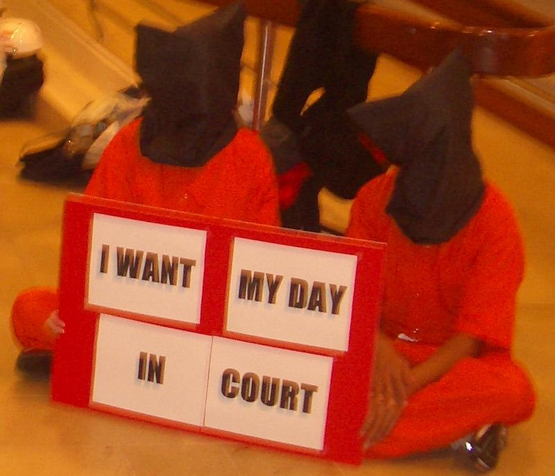 I Want My Day in Court