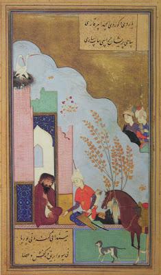 5 persian miniature