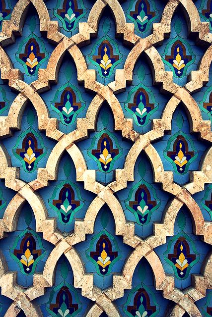 moroccanflowerpattern
