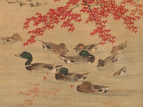 silk-painting-with-ducks-japan