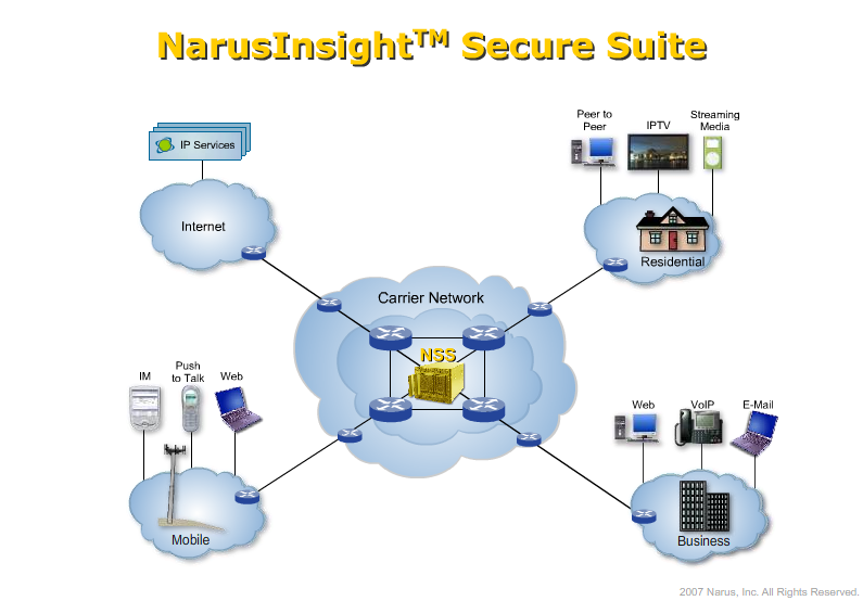 an eye on surveillance narus security through surveillance