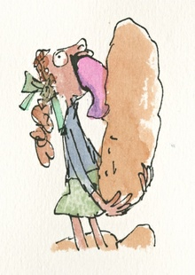 Quentin Blake Charlie girl