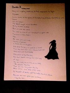 A feminist poem