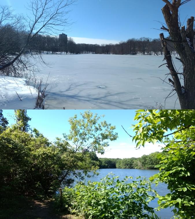 boston invierno verano