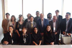 "Great international speakers for ""AI for Social Good"" @Waseda university"