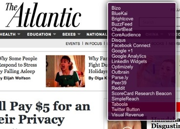 Atlantic story about privacy with privacy-compromising spy stuff list