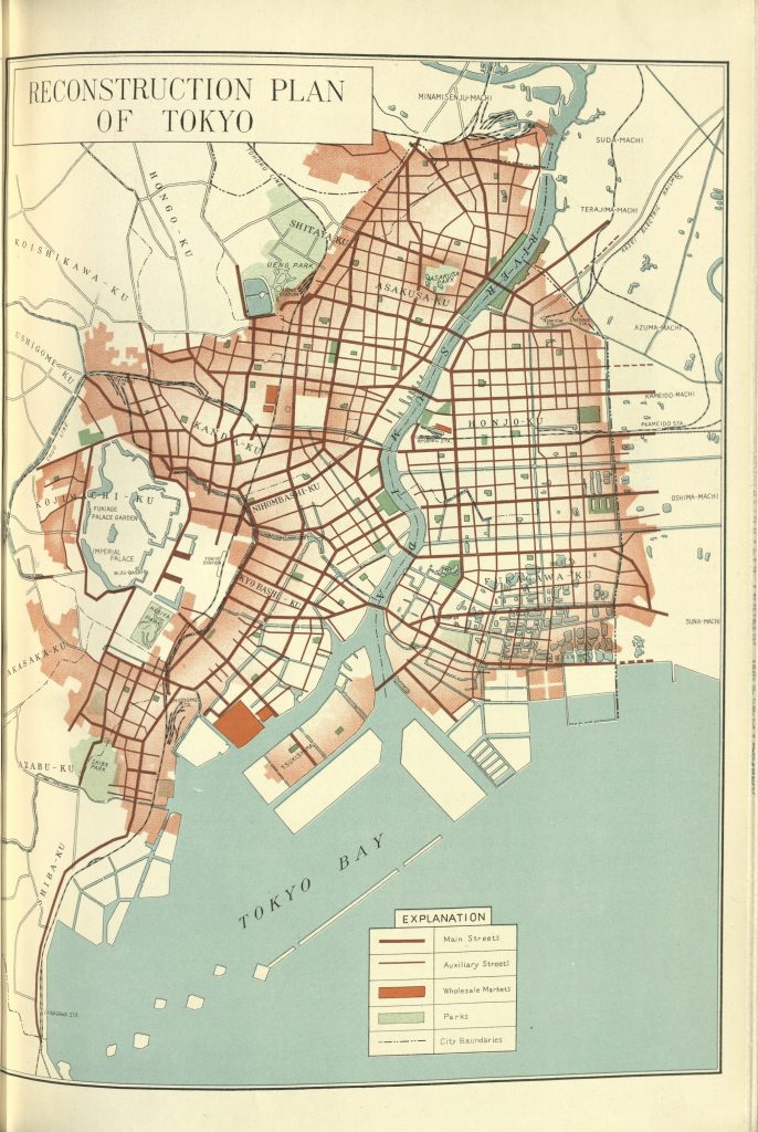 Tokyo The Harvard Map Collection Presents - Japan map 1930