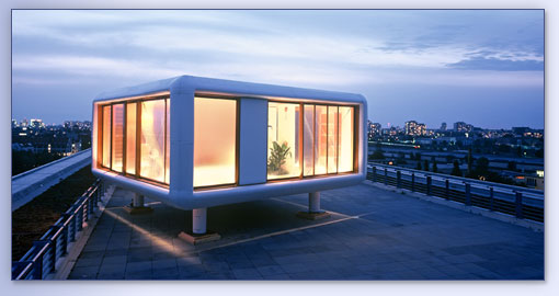 Loft cube from trailer park boys to real men who know for Mobile home park design ideas