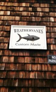 weathervane signage