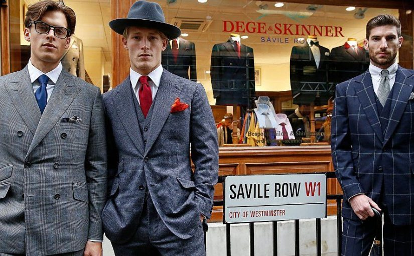 Shopping for a Ready to Wear Savile Row Suit