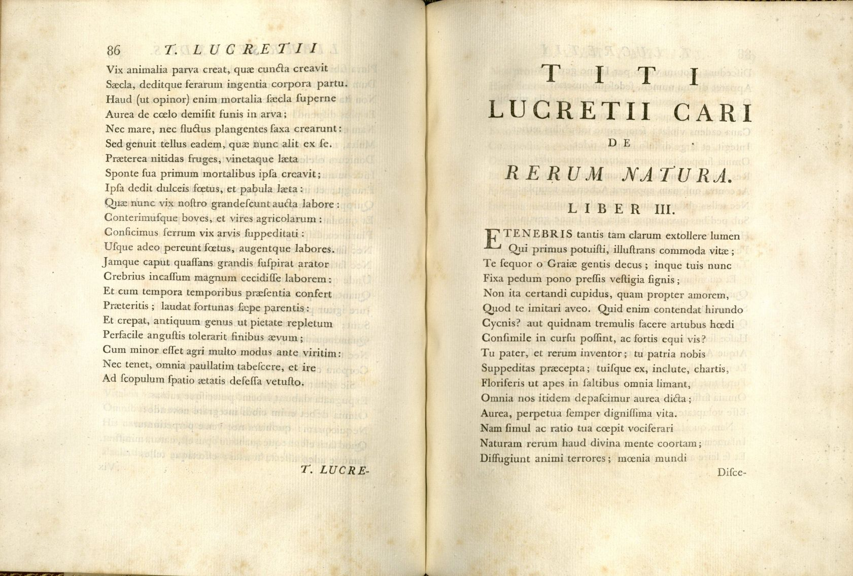 » Saluting The Swerve Houghton Library Blog  Lucretius