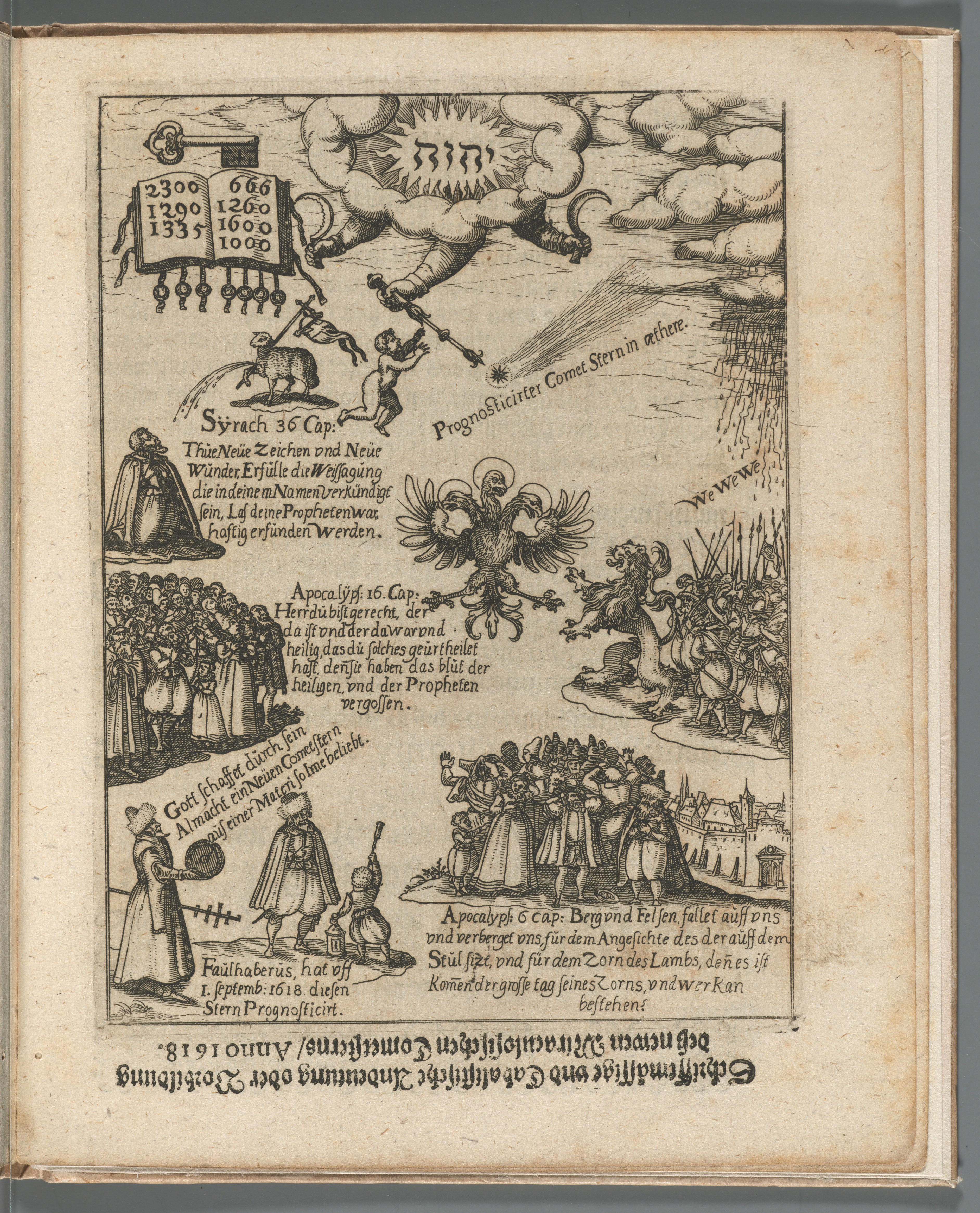 Faulhaber, Johannes, 1580-1635. Fama syderea nova, 1618. *GC6.F2735.618f