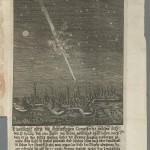 Wagner, Johann Christoph. Cometa disparens, 1681. *GC6.W1258.681c (B)