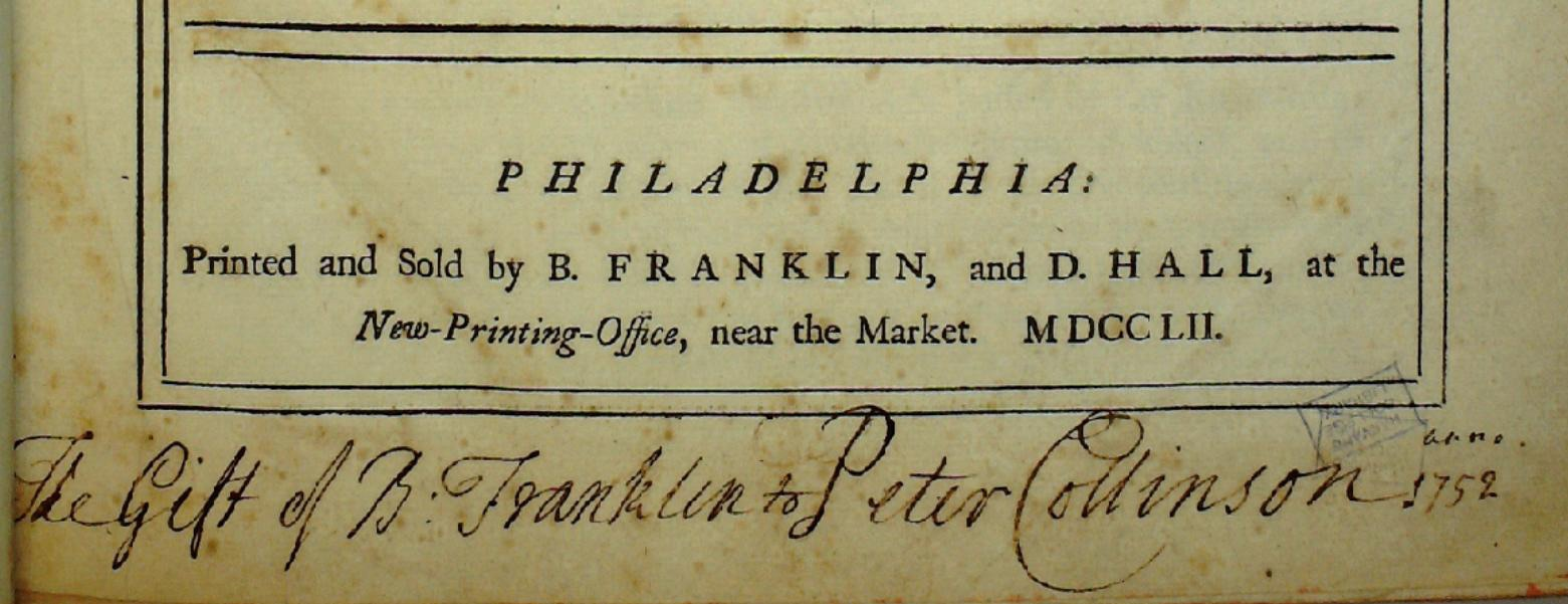 Benjamin Franklin's Mission to London, 1757