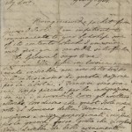 James Boswell, letter to Lord Lyttleton, July 29, 1768, p.1. MS Eng 1473