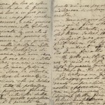 James Boswell, letter to Lord Lyttleton, July 29, 1768, p.2-3. MS Eng 1473