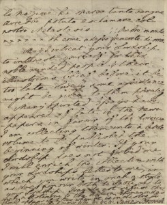 James Boswell, letter to Lord Lyttleton, July 29, 1768, p.4. MS Eng 1473