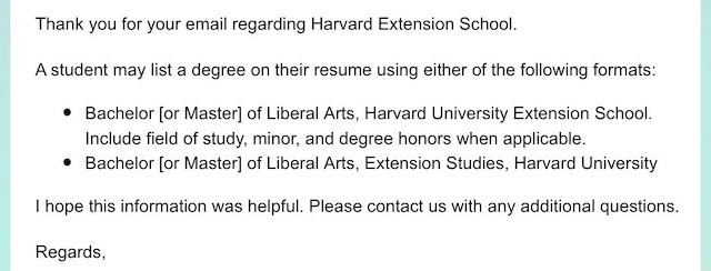 Harvard Extension School résumé guidelines are bogus | Ipso Facto
