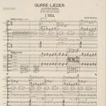 Arnold Schoenberg, Gurre-Lieder, 1920
