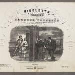 Title page, Rigoletto. Merritt Room Mus 857.1.559
