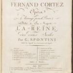 Title Page, Fernand Cortez. Mus 813.2.623