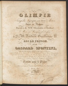Title page, Olimpie, Mus 813.2.615.5